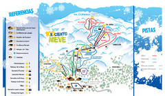 Caviahue Ski Trail Map