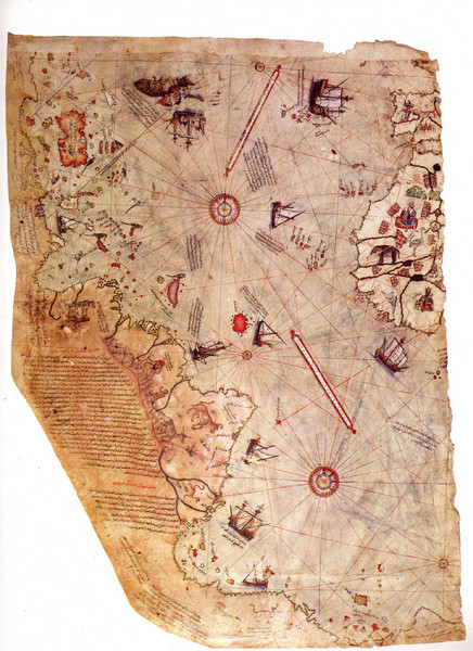 1513 Turkish Map of the Americas
