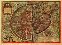 1569 Paris Map