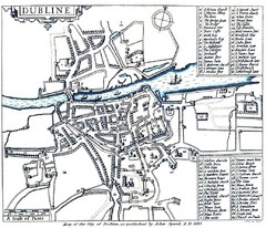 1608 Dublin Historical Map