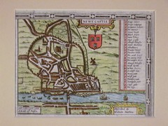 1611 Newcastle-Upon-Tyne Historic Map