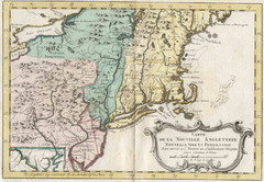 1773 New England Map