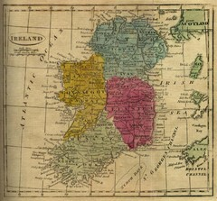 1808 Ireland Historical Map