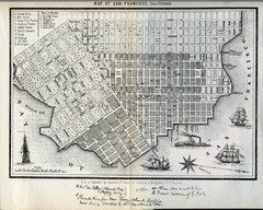 1852 San Francisco Map
