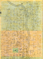 1859 Lansing Middle Upper Bus District Map