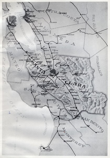 1895 San Francisco Bay Area Map