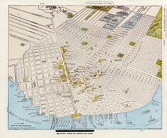 1896 San Francisco Perspective Map