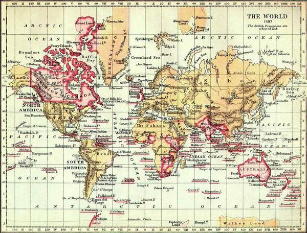 1897 british empire map world mappery fullsize 1897 british empire map freerunsca Image collections