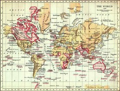 1897 British Empire Map