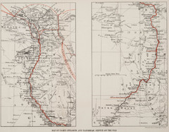 1897 Cook's Nile Map