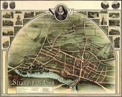 1902 Stratford-upon-Avon Map
