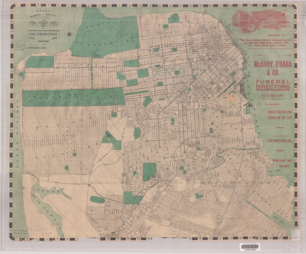 1905 San Francisco Street Map