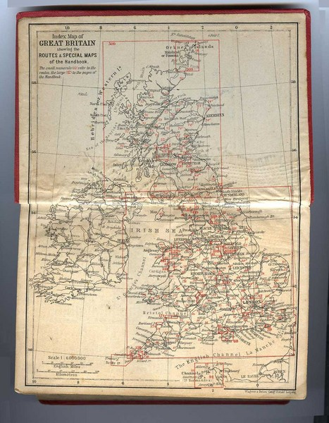 1910 Great Britain Map