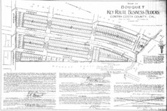 1914 Bouquet Key Route Business Block Map