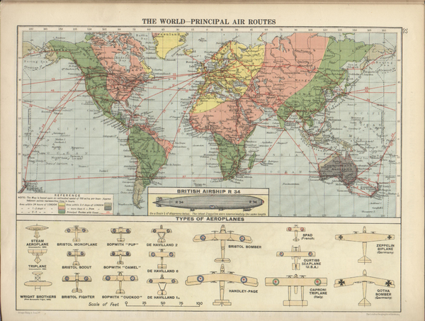1920 World Map