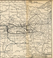 1925 Union Pacific Railroad Map Part 2