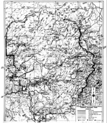 1931 Yosemite National Park Map