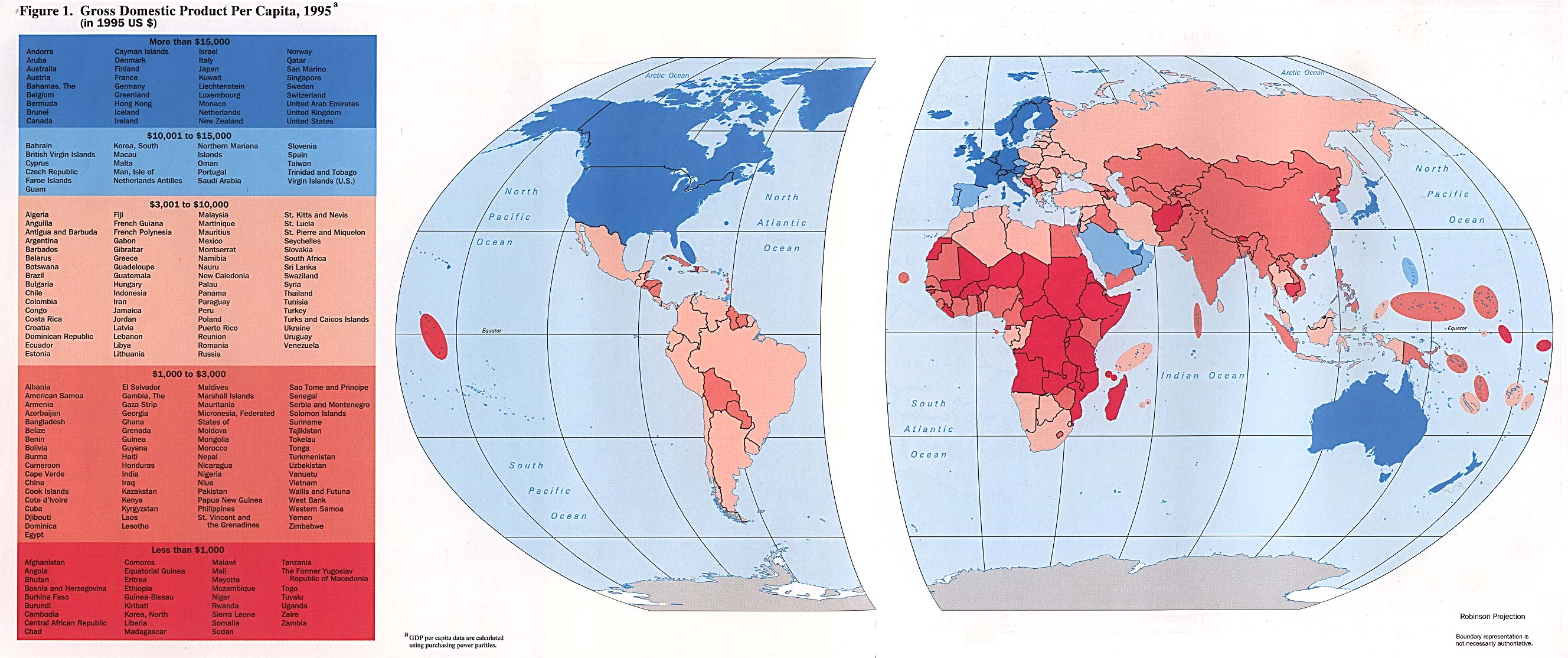 1995 gdp world maps map world mappery gumiabroncs Image collections