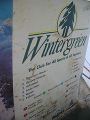 2001 Wintergreen Downhill Map Part 2