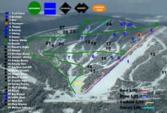 2004–07 Troll Downhill Map