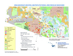 2004 Migrant Deaths, Water Station and Resue...
