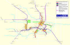 2012 Houston Metro Map
