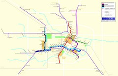 2012 Houston Transit System Map