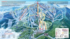49 Degrees North Ski Trail Map
