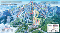 49 North Mountain Resort Ski Trail Map