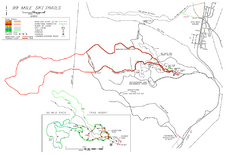 99 Mile Ski Ski Trail Map