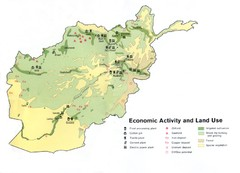 AFG Economic Activty Map