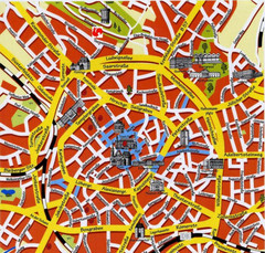 Aachen Center Map