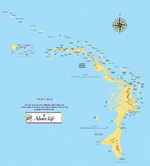 Abaco Islands Map