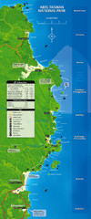 Abel Tasman National Park Map