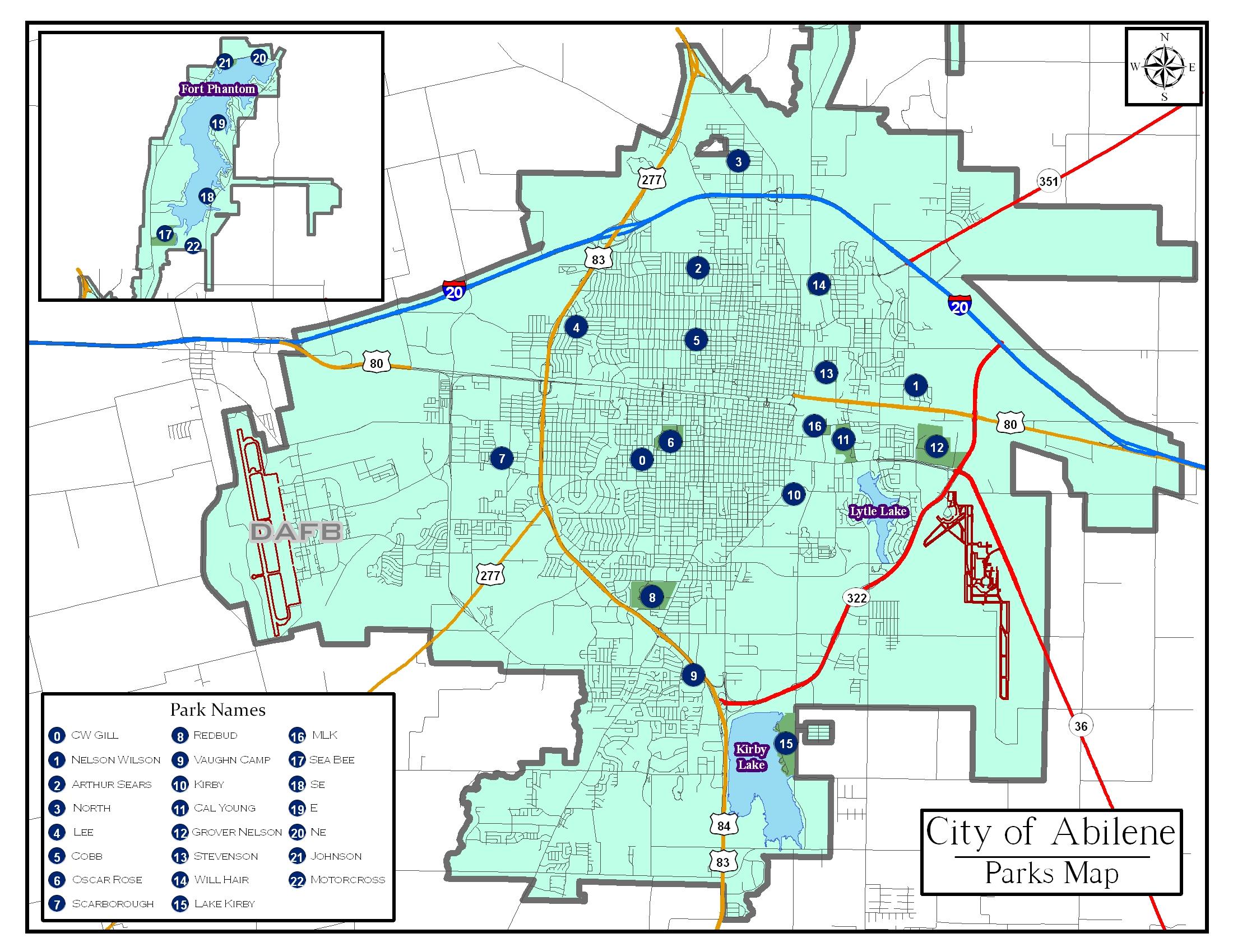 Abilene Zip Code Map Zip Code Map