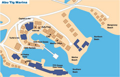 Abu Tig Marina Map