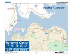 Acadia Approach Map