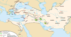 Achaemenid Empire Guide Map