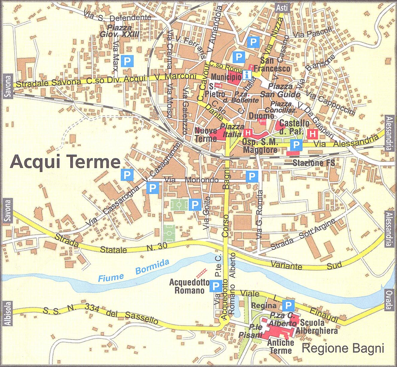 Amendola Italy Map.Acqui Termi Map Acqui Terme Italy Mappery