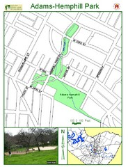 Adams-Hemphill Park Map