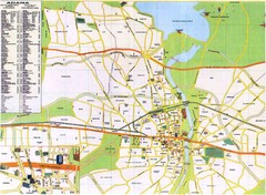 Adana City Map
