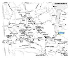 Addis Ababa Map - Addis Ababa • mappery
