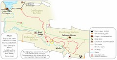 Addo Elephant National Park Trails Map
