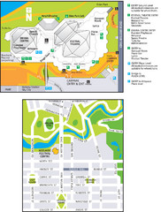 Adelaide Festival Centre Map
