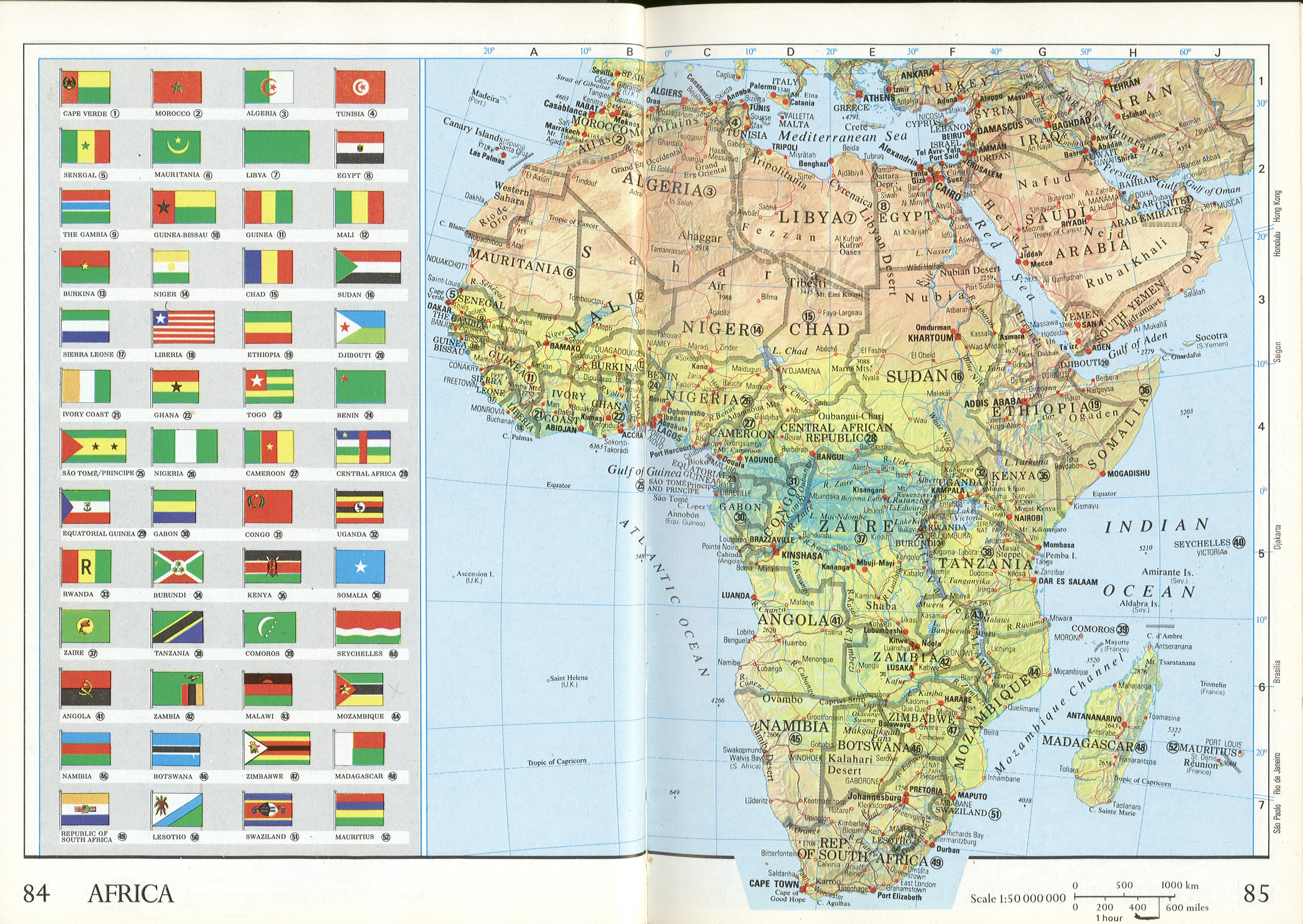 Flag Map Of Africa.Africa Flag Map Africa Mappery