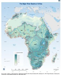 Africa River Basin Map