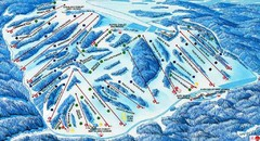 Afton Alps Ski Area Ski Trail Map