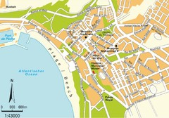 Agadir city Map