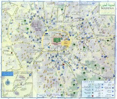 Al Madinah Tourist Map