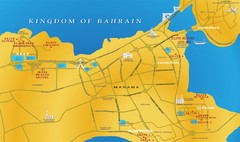 Al Manamah Tourist Map